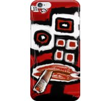 Time Takes a Cigarette iPhone Case/Skin