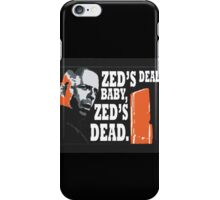 Zed's Dead iPhone Case/Skin