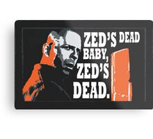 Zed's Dead Metal Print