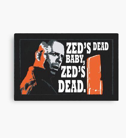 Zed's Dead Canvas Print