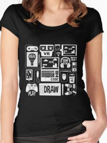 It's a Game Dev World Women's Fitted Scoop T-Shirt