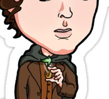 Lord of the Rings - Frodo Baggins Hobbit with Sting Sticker