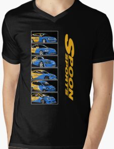 Spoon Sport Generation Mens V-Neck T-Shirt