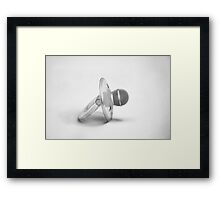 Born To Sing Concept Framed Print