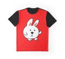 CUTE CARTOON BUNNY Graphic T-Shirt