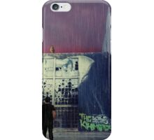 runaway cat iPhone Case/Skin