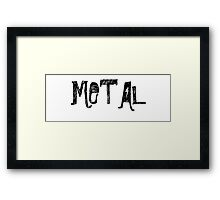 Various Metal Products Framed Print