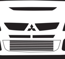 """We Don't Name Our Cars After Diseases"" - Mitsubishi Evo Gag Sticker / Tee Sticker"