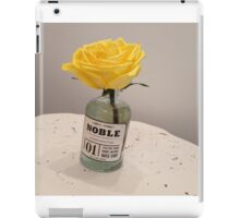 Yellow Vase iPad Case/Skin