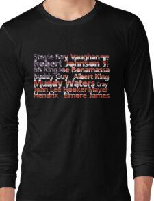 American Blues Legends Long Sleeve T-Shirt