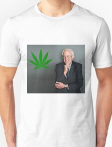 Bernie Sanders Supports Weed T-Shirt