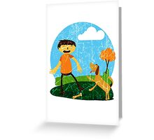 Best Friends 2 Greeting Card