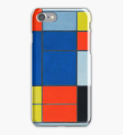Piet Mondrian, Dutch, Title Composition C iPhone Case/Skin
