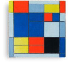 Piet Mondrian, Dutch, Title Composition C Canvas Print