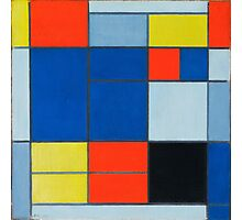 Piet Mondrian, Dutch, Title Composition C Photographic Print
