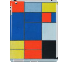 Piet Mondrian, Dutch, Title Composition C iPad Case/Skin