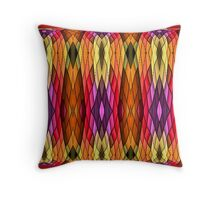 Crazy wild. Throw Pillow