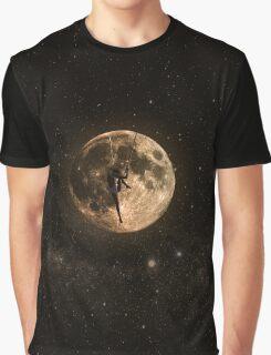 Surreal Moon Climber Graphic T-Shirt