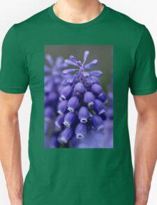 Macro Grape Hyacinth 1 Unisex T-Shirt