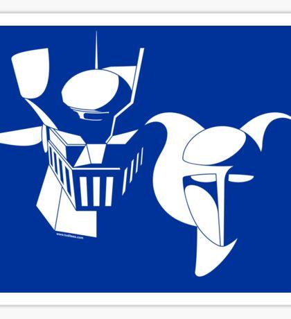 Manga Robots Sticker