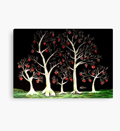 The Valentine Forest Canvas Print