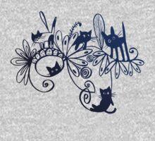 happy kittens One Piece - Long Sleeve