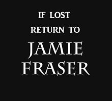 If Lost Return to Jamie Fraser / Outlander Women's Fitted V-Neck T-Shirt