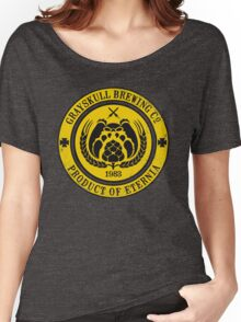 Grayskull Brewing Company - Yellow Women's Relaxed Fit T-Shirt
