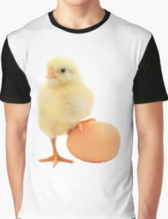 cute chick playing soccer Graphic T-Shirt