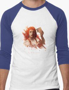 Leeloo Dallas, Multipass! Men's Baseball ¾ T-Shirt