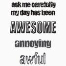 ask me carefully by scholara