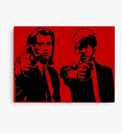 Pulp Fiction - Vincent and Jules Canvas Print