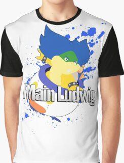 I Main Ludwig - Super Smash Bros Graphic T-Shirt