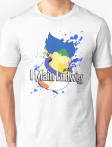 I Main Ludwig - Super Smash Bros Unisex T-Shirt