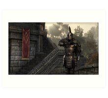 Skyrim Elder Scrolls Art Print