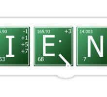 Science - Elements Sticker