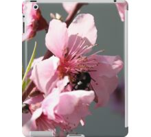Unidentified Winged Insect On Peach Tree Blossom iPad Case/Skin