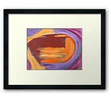 ABSTRACT 491 Framed Print