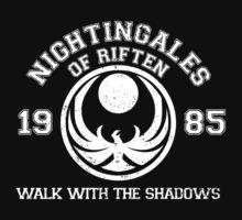 Nightingales of riften - black by LabRatBiatch