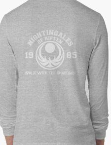 Nightingales of riften - black Long Sleeve T-Shirt