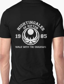 Nightingales of riften - black Unisex T-Shirt