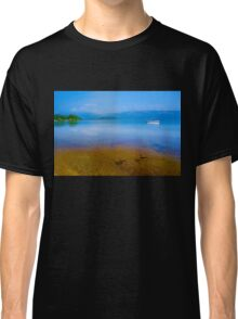 Tranquil Lake Painting of Loch Lomond Classic T-Shirt