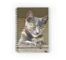 PUSSY CAT LOVE Spiral Notebook