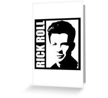 Rick Roll Greeting Card