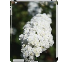 Deutzia White Spring Blossoms  iPad Case/Skin