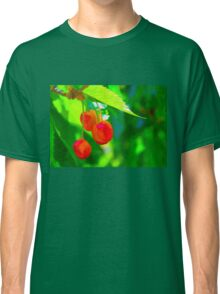 Red Cherries Painting Classic T-Shirt