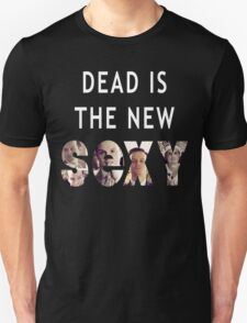 Jim Moriarty Dead is the new Sexy T-Shirt