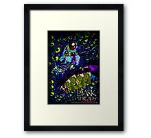 The River Guide: Face of Emerald Eyes Framed Print