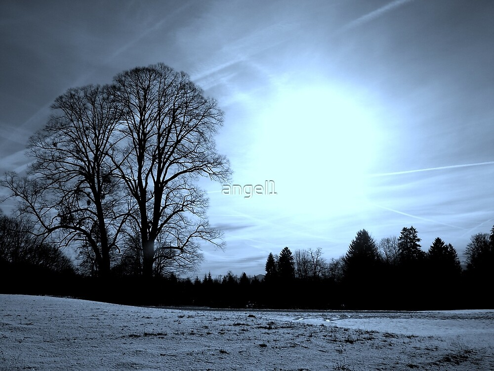 """WINTER  featured in """"Inspired Art"""" by ©The Creative  Minds"""