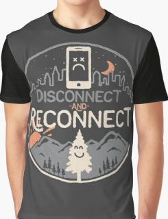 Disconnect and Reconnect Graphic T-Shirt